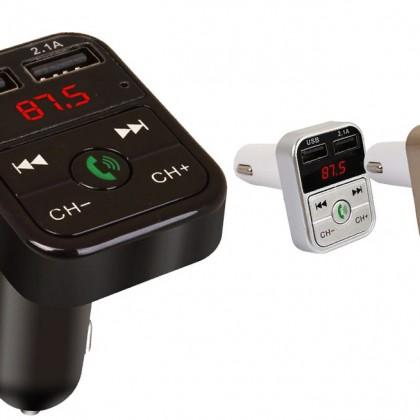 Автомобильный Bluetooth FM-передатчик
