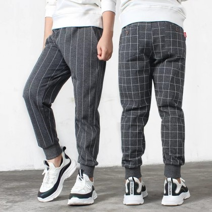 Acthink модные casual брюки в полоску/клетку для мальчиков