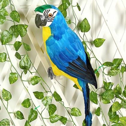 Декоративная фигурка попугая.
