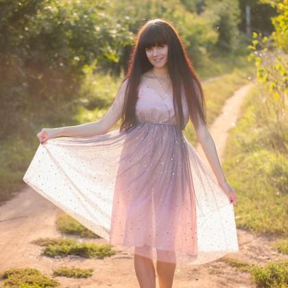 Волшебное фатиновое платье xiaoxiao