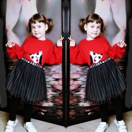 Милый натуральный свитер с Алиэкспресс для девочки. Как правильно выбрать размер?