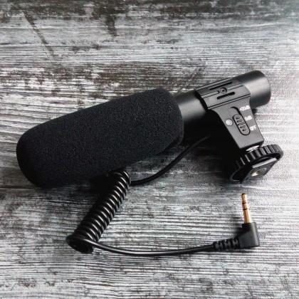 Аудио-видео микрофон для фотоаппарата