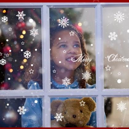 Снежинки на окно. Скоро новый год!