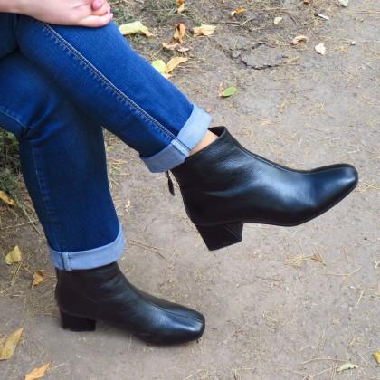 Классика всегда в моде - шикарные ботинки из натуральной кожи!