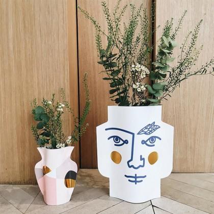 Очень красивая бумажная ваза с Алиэкспресс