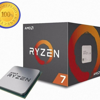AMD Ryzen 7 2700 R7 2700 3,2 ГГц Восьмиядерный Sinteen-Thread 16M 65W с охлаждающим вентилятором