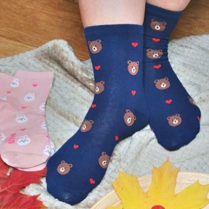 Забавные мягкие, эластичные и очень удобные носки