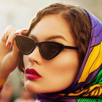 """Качественные очки """"Кошачий глаз"""" с Алиэкспресс за 250 рублей"""