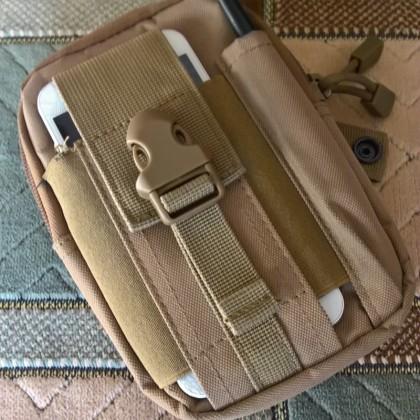 Все свое ношу с собой - тактическая сумка на пояс