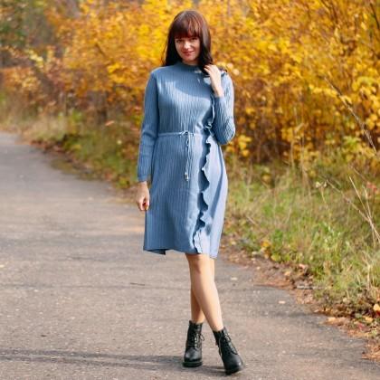 Красивое трикотажное платье GIGOGOU