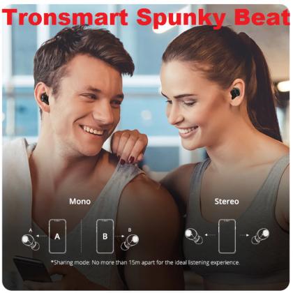 Tronsmart Spunky Beat Bluetooth наушники TWS  беспроводной HDMI  QualcommChip, CVC 8,0