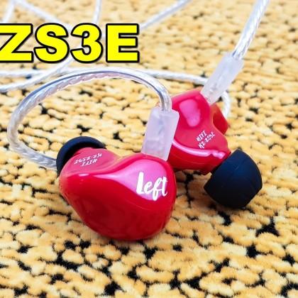 Наушники KZ ZS3Е:  суперхит за 9 баксов