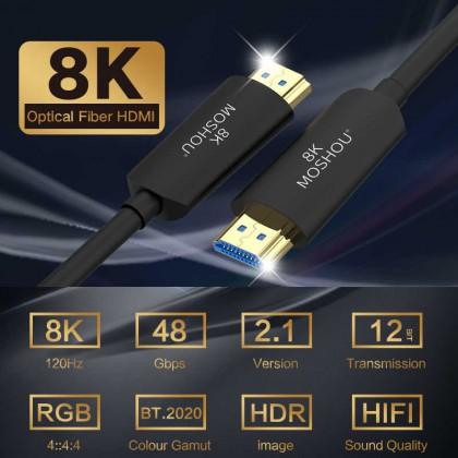 Волоконно-оптический HDMI 2,1 кабель Ultra-HD UHD 8K
