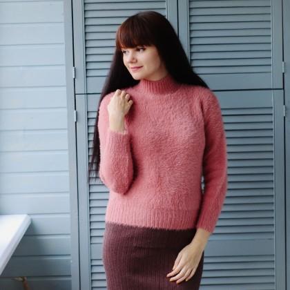 Пушистый свитерок KarSaNy