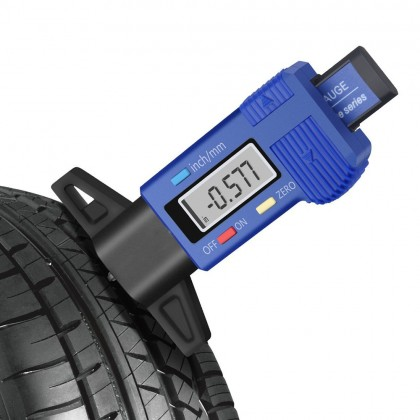 Цифровой измеритель глубины протектора в шинах