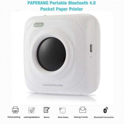 Портативный Bluetooth принтер. Мини Карманный фотопринтер