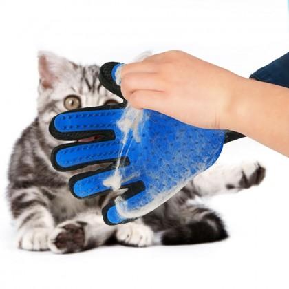 Nicrew перчатка для сбора волос с кошек и собак.