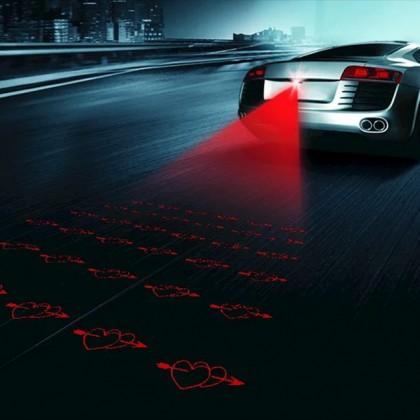 Автомобиль противотуманный лазер