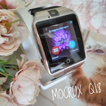Сегодня обзор на смарт-часы MOCRUX Q18, которые поддерживают сим-карты всех операторов.