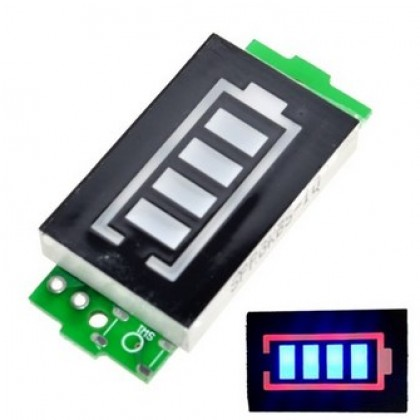 4S Single 3.7V Lithium Battery Capacity Indicator Module.
