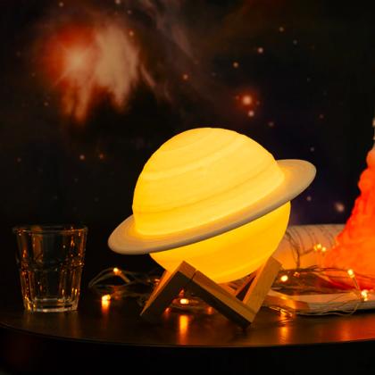 Крутая лампа в виде планеты с Алиэкспресс