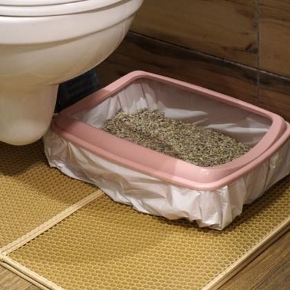 Гигиенические пакеты для кошачьего лотка.