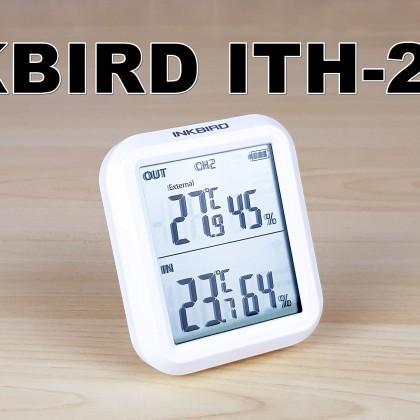 Inkbird ITH-20R: цифровой термометр и гигрометр с выносными датчиками