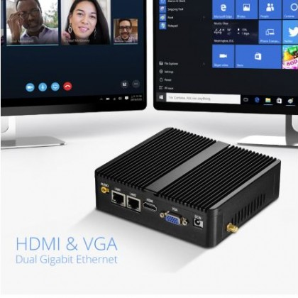 Компактный компьютер Intel, идеальный офисный мини ПК