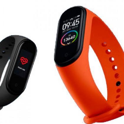 Измените себя, купив умный браслет Xiaomi mi Band 4
