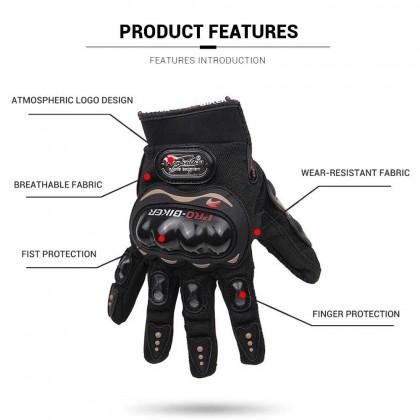 Motorcycle Gloves Men Motocross Gloves Full Finger