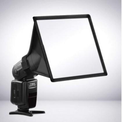 Софтбокс для накамерной вспышки или как поднять качество фотографий
