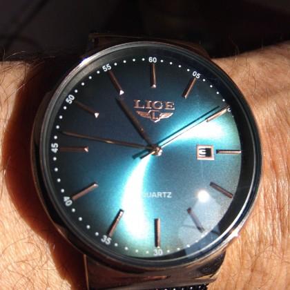 Очень стильные часы Lige