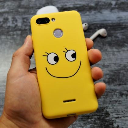 Веселый Силиконовый чехол на Xiaomi Redmi 6