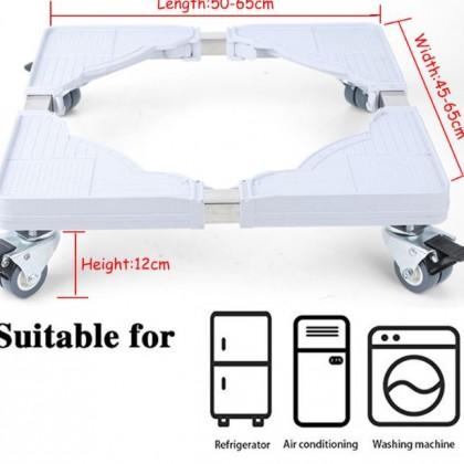Передвижная подставка на колесах под холодильник или стиральную машину