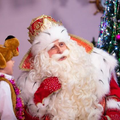 Борода Деда Мороза с Алиэкспресс за 700 рублей