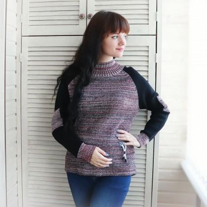 Интересный свитер GIGOGOU