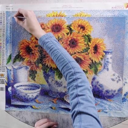 Алмазная живопись: отличный подарок с Алиэкспресс от 220 рублей