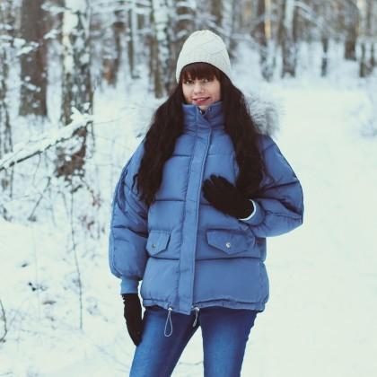 Теплая зимняя куртка Xiaoxiao