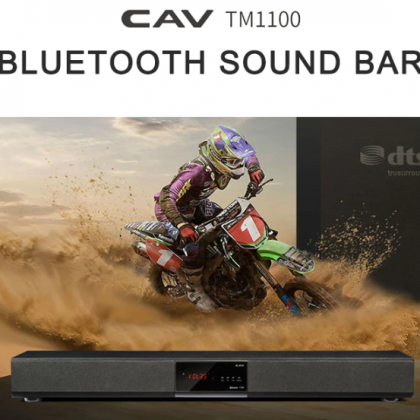 Саундбар CAV TM1100  прокачиваем звук ТВ