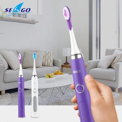 SEAGO Sonic ультразвуковая электрическая зубная щетка
