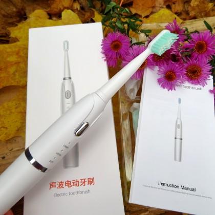 Классная ультразвуковая электрическая зубная щетка от Rinsun да еще по минимальной цене