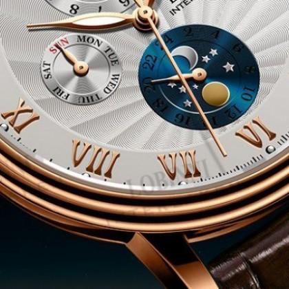 Reloj suizo LOBINNI fábrica de automóviles, cristal de zafiro!