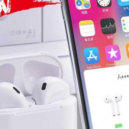 I2000 Tws Aire Pop-up 1:1 Réplica Auriculares inalámbricos Bluetooth Smart sensor
