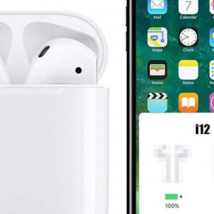 i12 TWS MEJOR PRECIO !!! 2019 Nueva versión POP UP Chip W1 Analógico AirPods Bluetooth Auriculares
