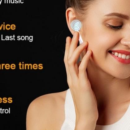 i300 TWS bluetooth auriculares, sensor inteligente PK W1 H1 chips inalámbricos auriculares i10 i7s
