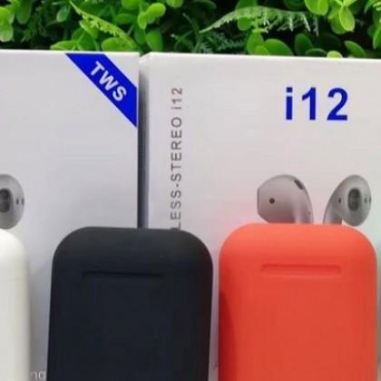 i12 TWS originais Bluetooth 5,0 fones de ouvido AirPods