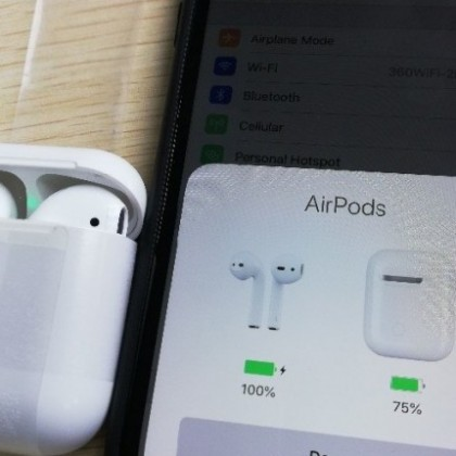 i20 TWS 1: 1 AirPods2 W1 pop-up animado com chip, BARATO POR ATACADO!