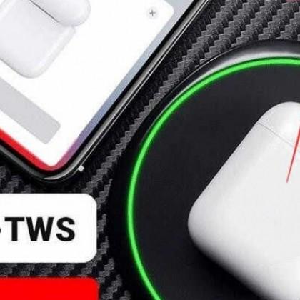 i80 TWS-fones de ouvido com Bluetooth 5,0 MELHORAR AirPODS-2 fones de ouvido W1 de chip