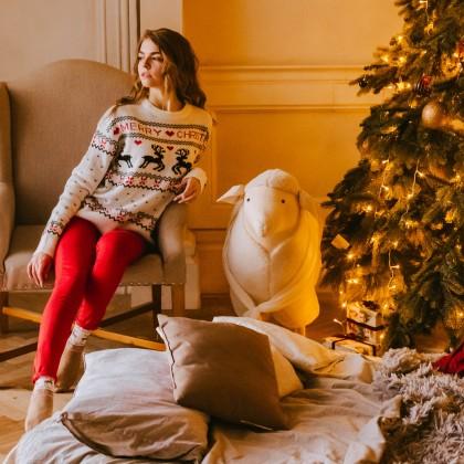 Крутой рождественский свитер с Алиэкспресс