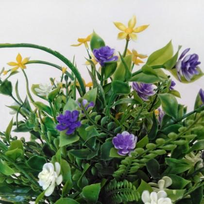 Яркий букет из искусственных цветов от hellomeimei Store.
